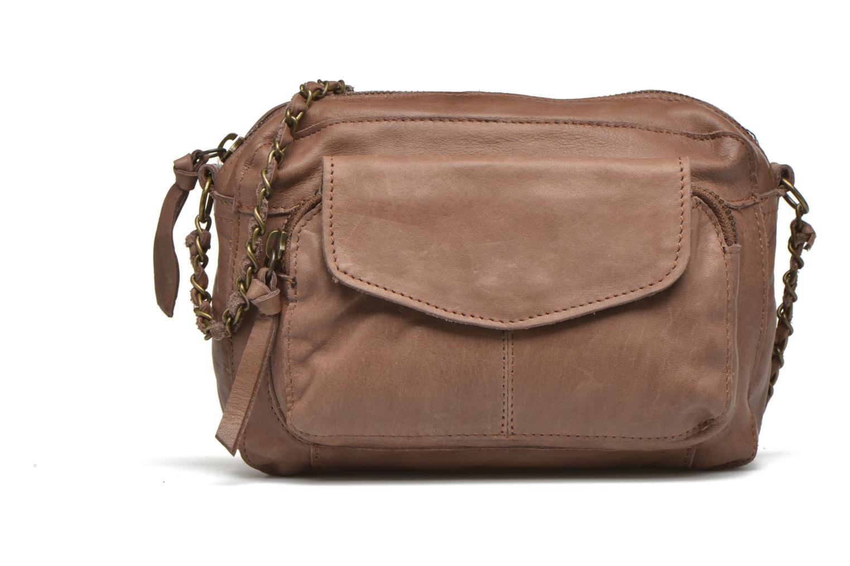 Handtassen Pieces Naina leather Crossover new Beige detail
