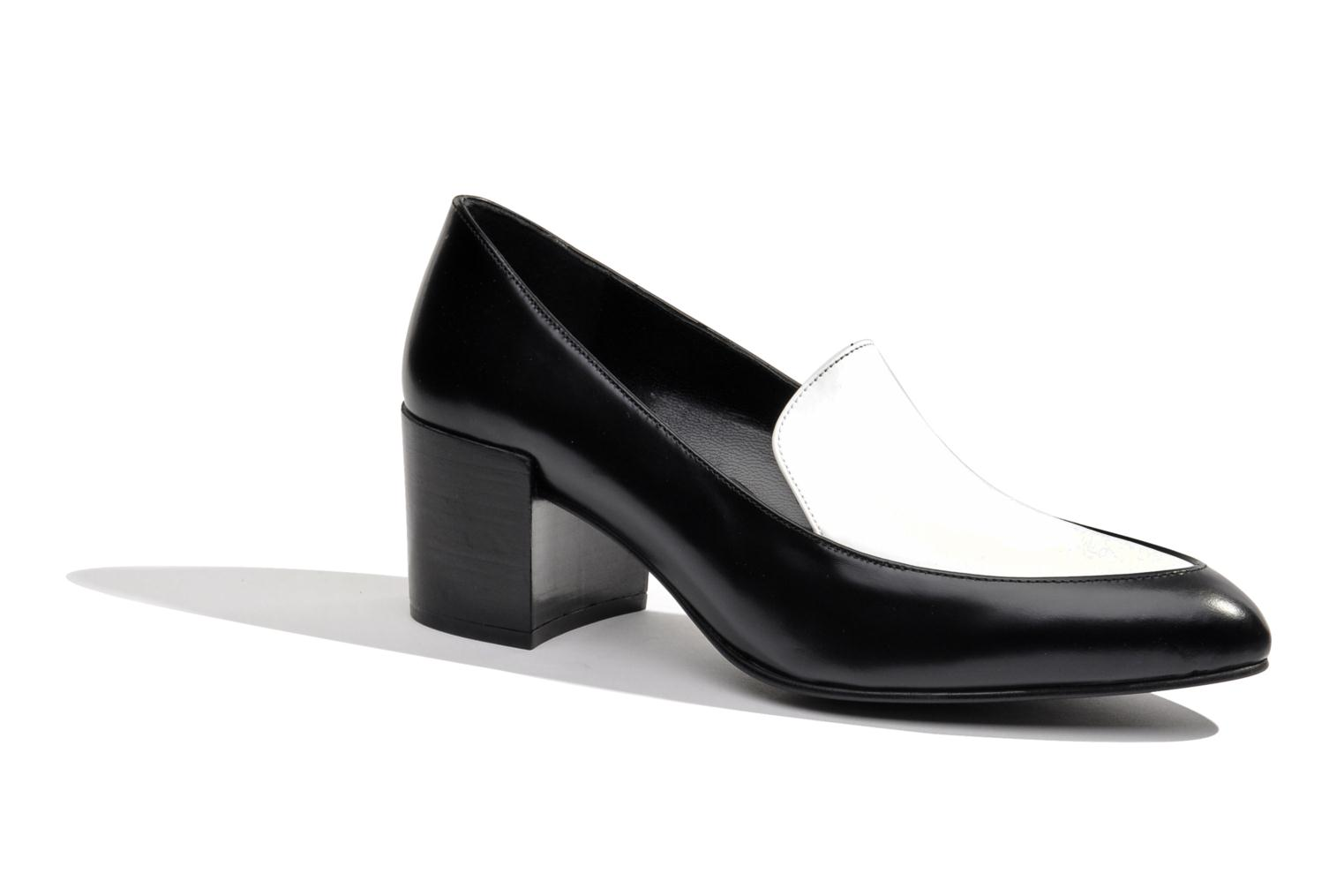 Loafers Made by SARENZA Bataclan #26 Black front view