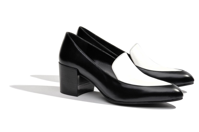 Slipper Made by SARENZA Bataclan #26 schwarz ansicht von rechts