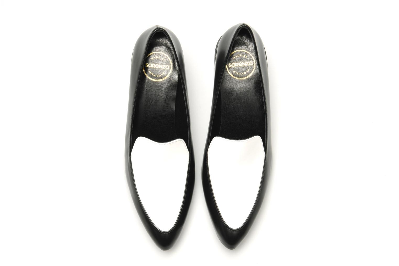 Slipper Made by SARENZA Bataclan #26 schwarz ansicht von oben