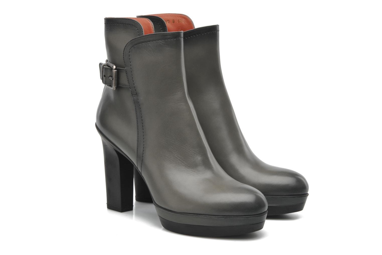 Bottines et boots Santoni Samantha 52511 Gris vue 3/4