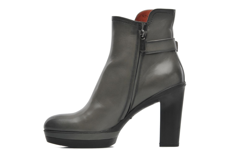 Stiefeletten & Boots Santoni Samantha 52511 grau ansicht von vorne