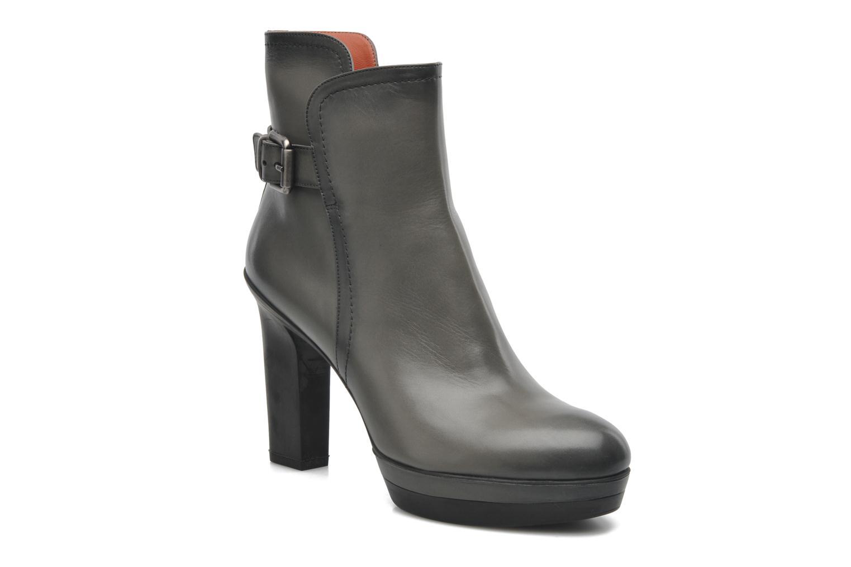 Bottines et boots Santoni Samantha 52511 Gris vue détail/paire