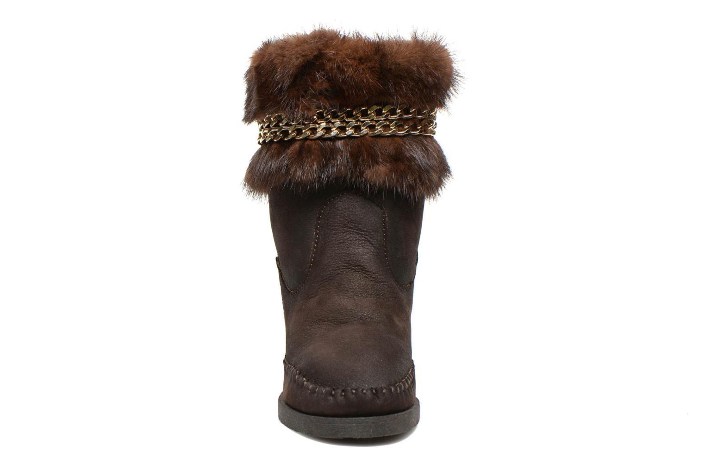 Boots en enkellaarsjes Karma of Charme Muk11 Bruin model