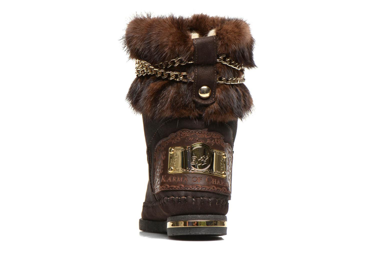 Boots en enkellaarsjes Karma of Charme Muk11 Bruin rechts