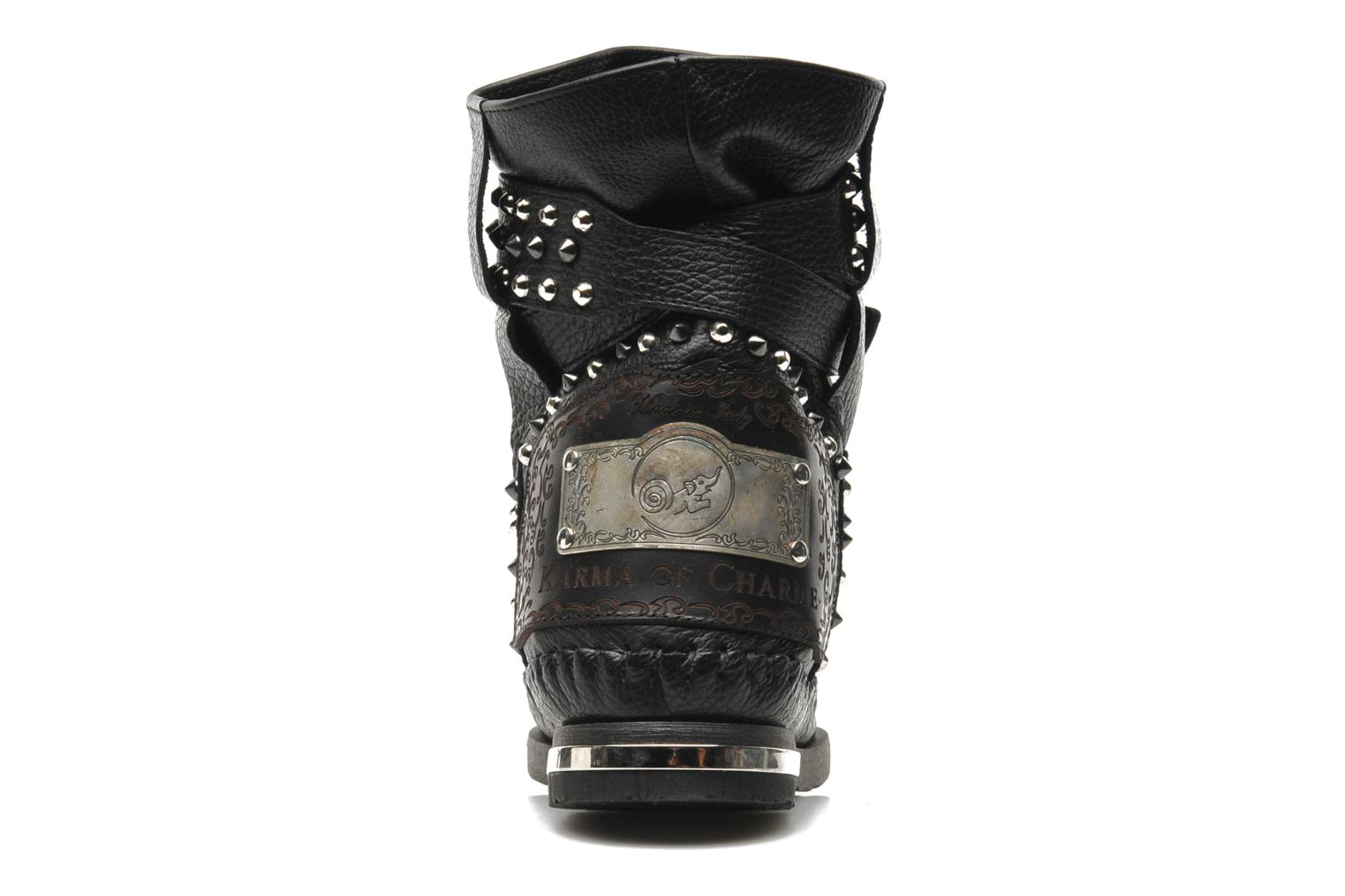 Ankle boots Karma of Charme London Dark Black view from the right