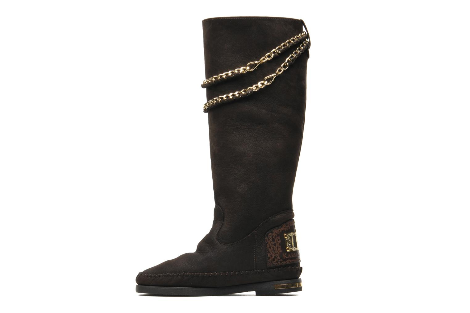 Boots & wellies Karma of Charme Opera Gold Brown front view