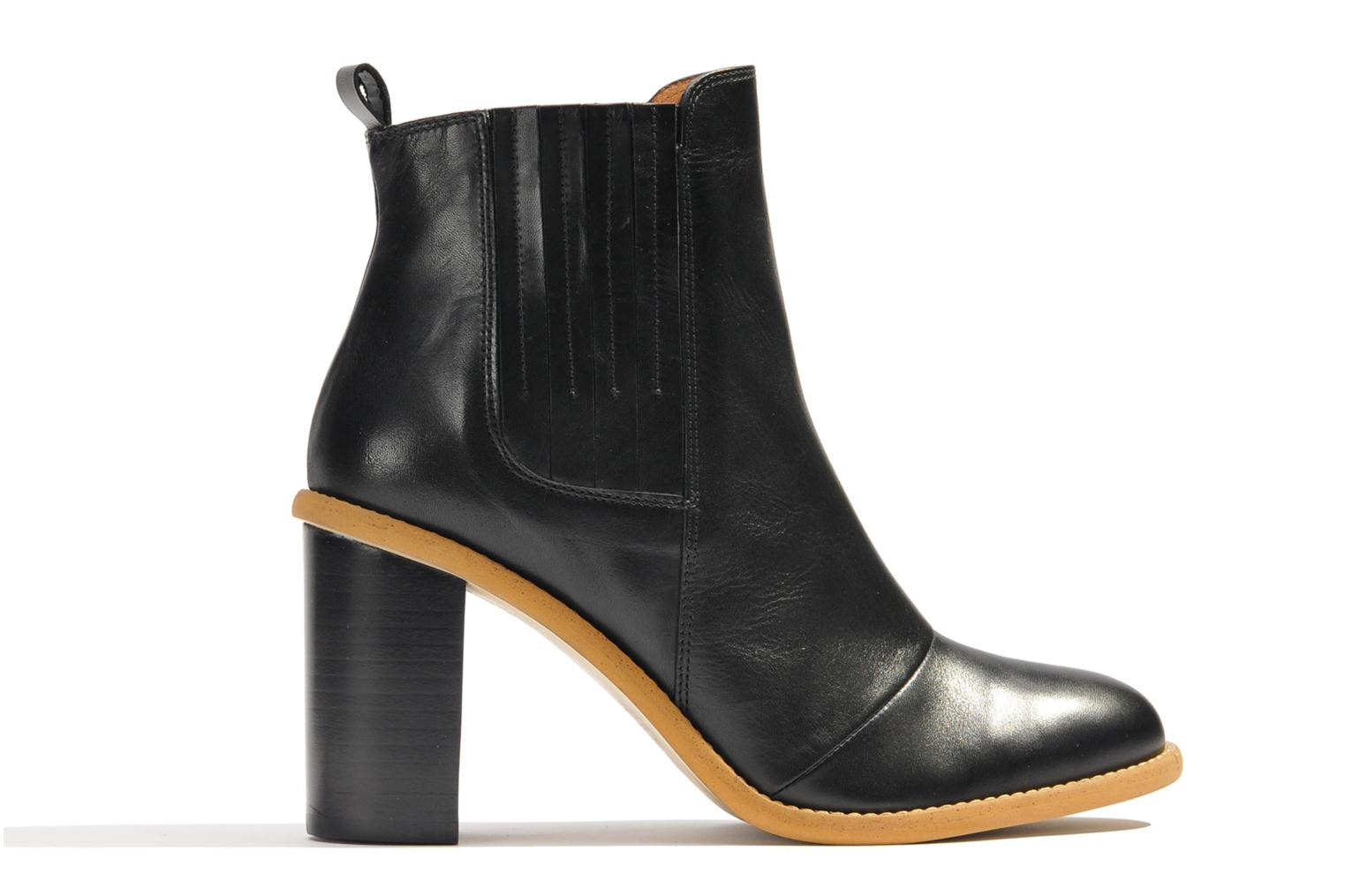 Ankle boots Made by SARENZA Toundra Girl Bottines à Talons #1 Black detailed view/ Pair view