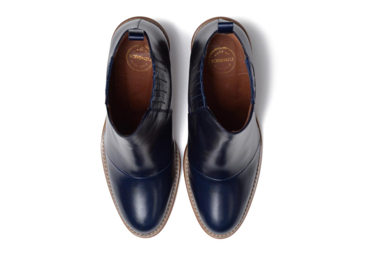 Bottines et boots Made by SARENZA Toundra Girl Bottines à Talons #1 Bleu vue portées chaussures