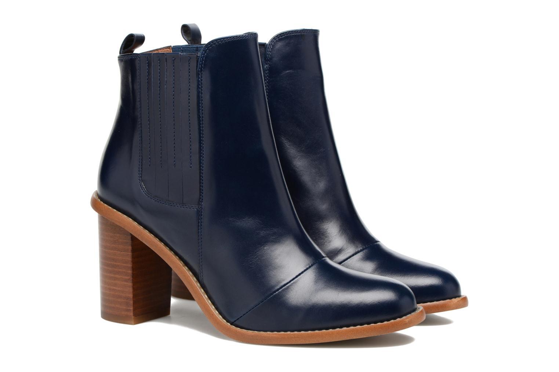 Stiefeletten & Boots Made by SARENZA Toundra Girl Bottines à Talons #1 blau ansicht von hinten
