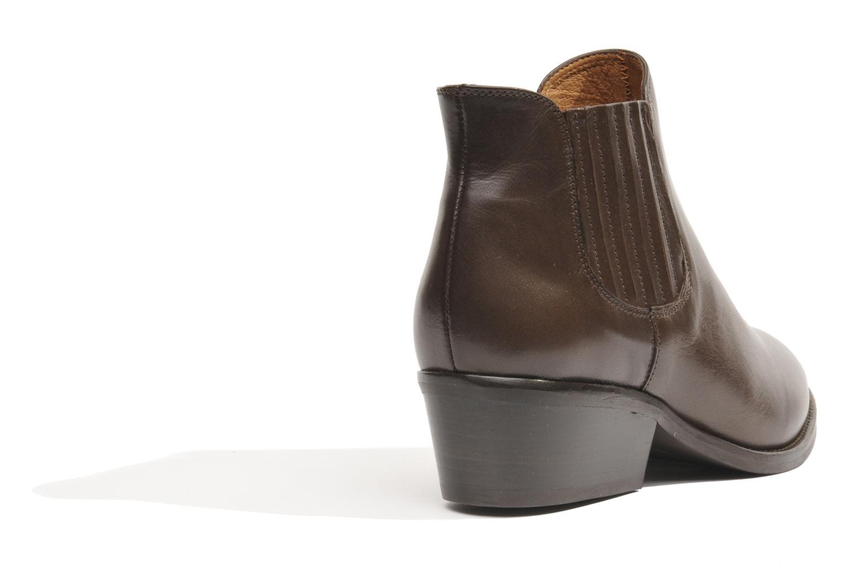 Bottines et boots Made by SARENZA Cape Town #3 Marron vue portées chaussures