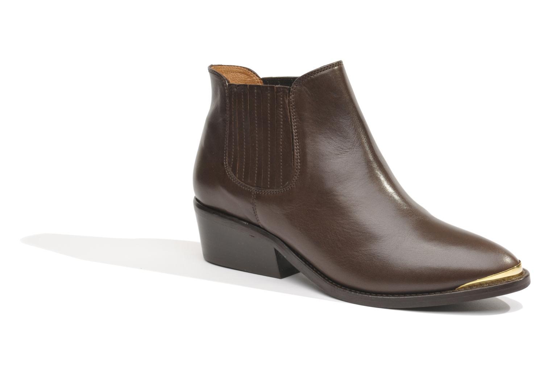 Bottines et boots Made by SARENZA Cape Town #3 Marron vue face
