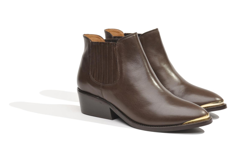 Bottines et boots Made by SARENZA Cape Town #3 Marron vue droite