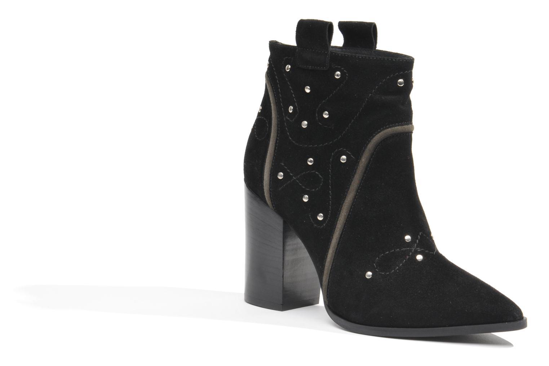 Boots en enkellaarsjes Made by SARENZA Buttes-Chaumont #1 Zwart rechts