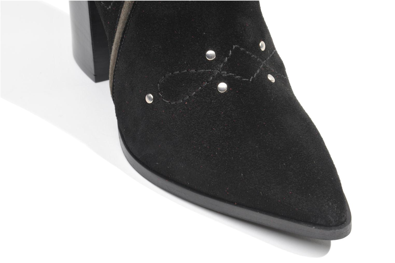 Bottines et boots Made by SARENZA Buttes-Chaumont #1 Noir vue gauche