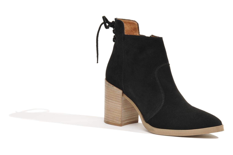 Bottines et boots Made by SARENZA Buttes-Chaumont #2 Noir vue face