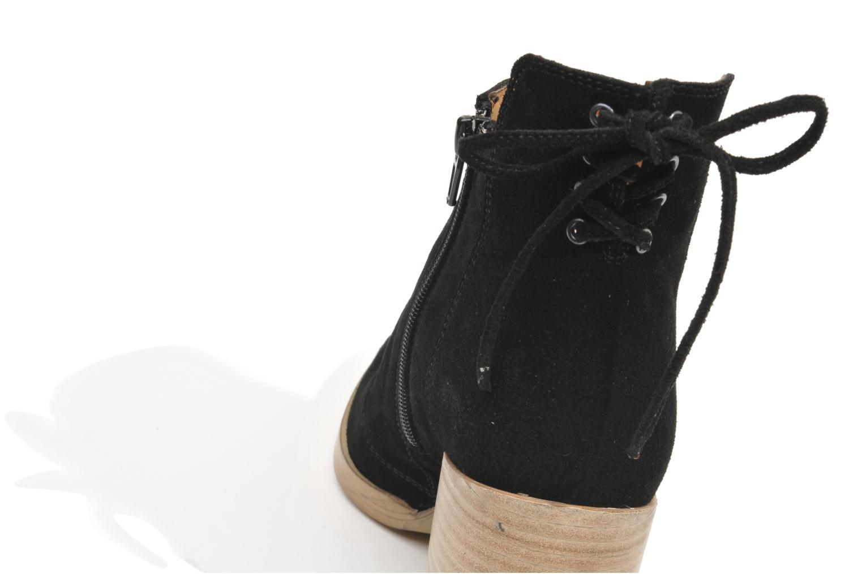 Boots en enkellaarsjes Made by SARENZA Buttes-Chaumont #2 Zwart achterkant