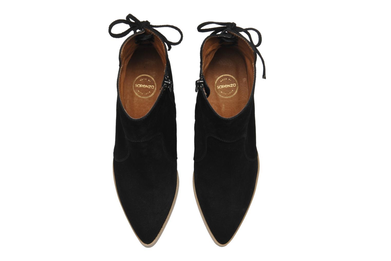 Stiefeletten & Boots Made by SARENZA Buttes-Chaumont #2 schwarz ansicht von oben