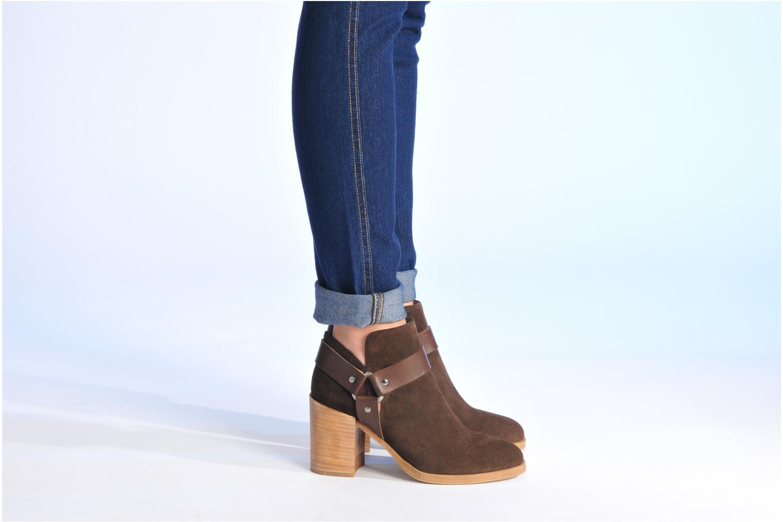 Boots en enkellaarsjes Made by SARENZA Rue des Dames #5 Bruin onder