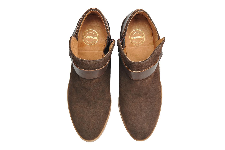 Boots en enkellaarsjes Made by SARENZA Rue des Dames #5 Bruin model