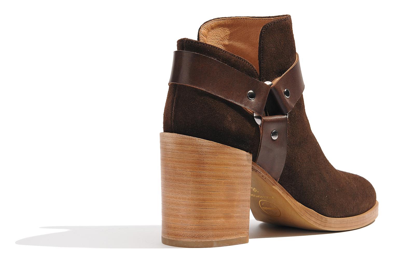 Boots en enkellaarsjes Made by SARENZA Rue des Dames #5 Bruin voorkant