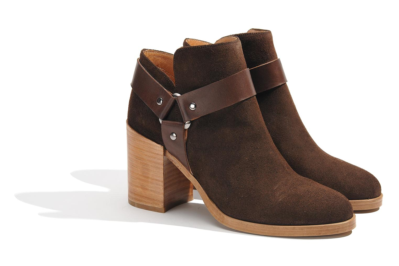 Boots en enkellaarsjes Made by SARENZA Rue des Dames #5 Bruin achterkant
