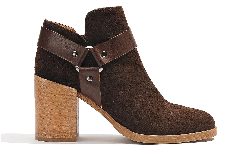 Boots en enkellaarsjes Made by SARENZA Rue des Dames #5 Bruin detail