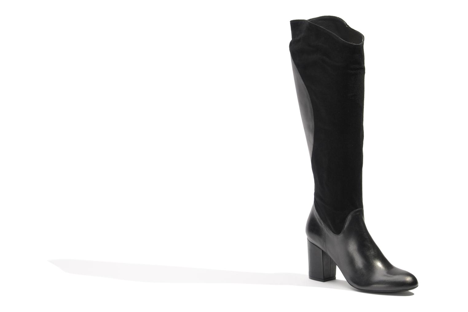 Boots & wellies Made by SARENZA Rue des Dames #8 Black view from the right