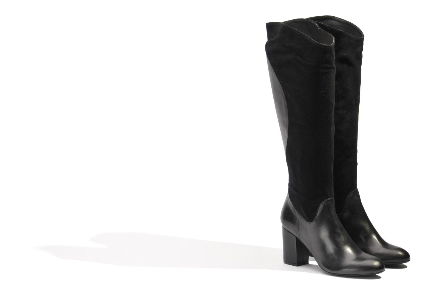 Boots & wellies Made by SARENZA Rue des Dames #8 Black back view