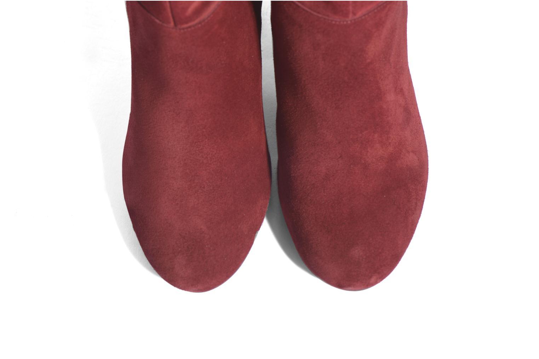 Stiefel Made by SARENZA Boots Camp #13 weinrot schuhe getragen