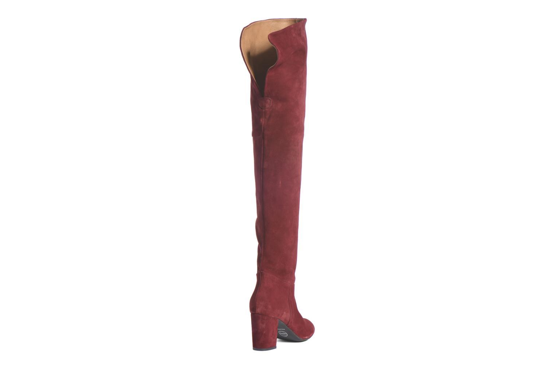 Stiefel Made by SARENZA Boots Camp #13 weinrot ansicht von vorne