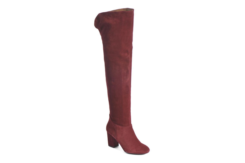 Stiefel Made by SARENZA Boots Camp #13 weinrot ansicht von rechts