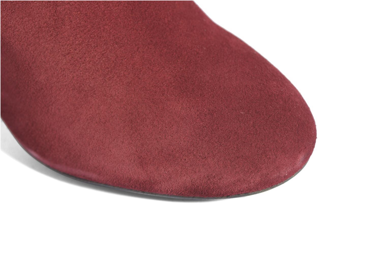Stiefel Made by SARENZA Boots Camp #13 weinrot ansicht von links