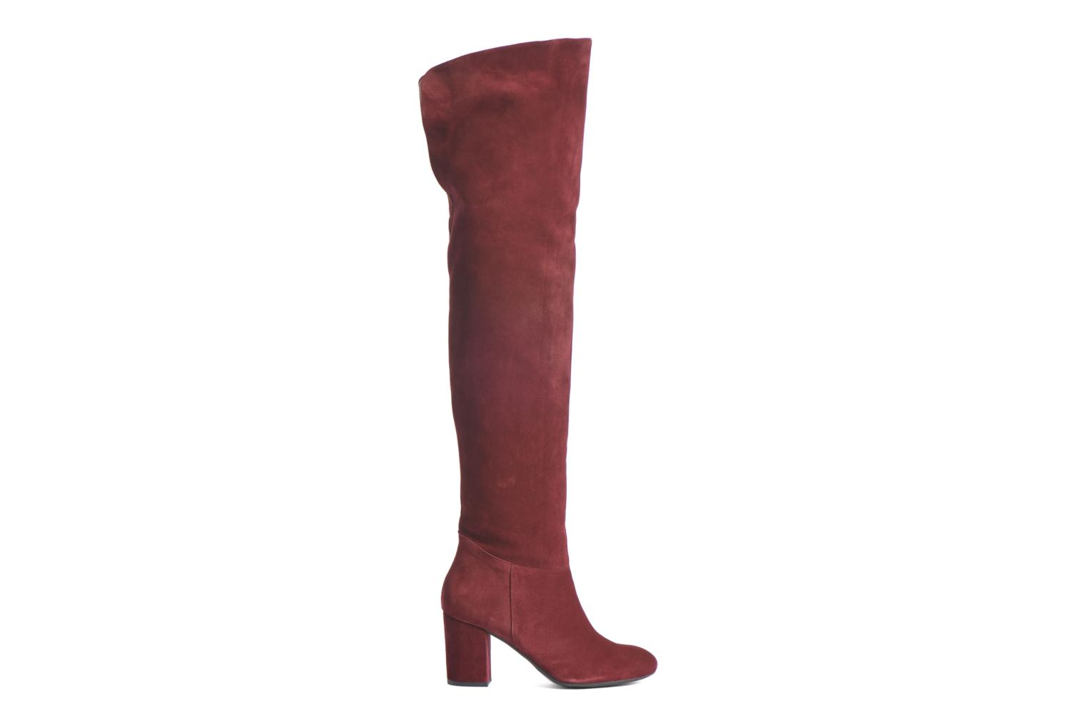 Boots & wellies Made by SARENZA Boots Camp #13 Burgundy detailed view/ Pair view