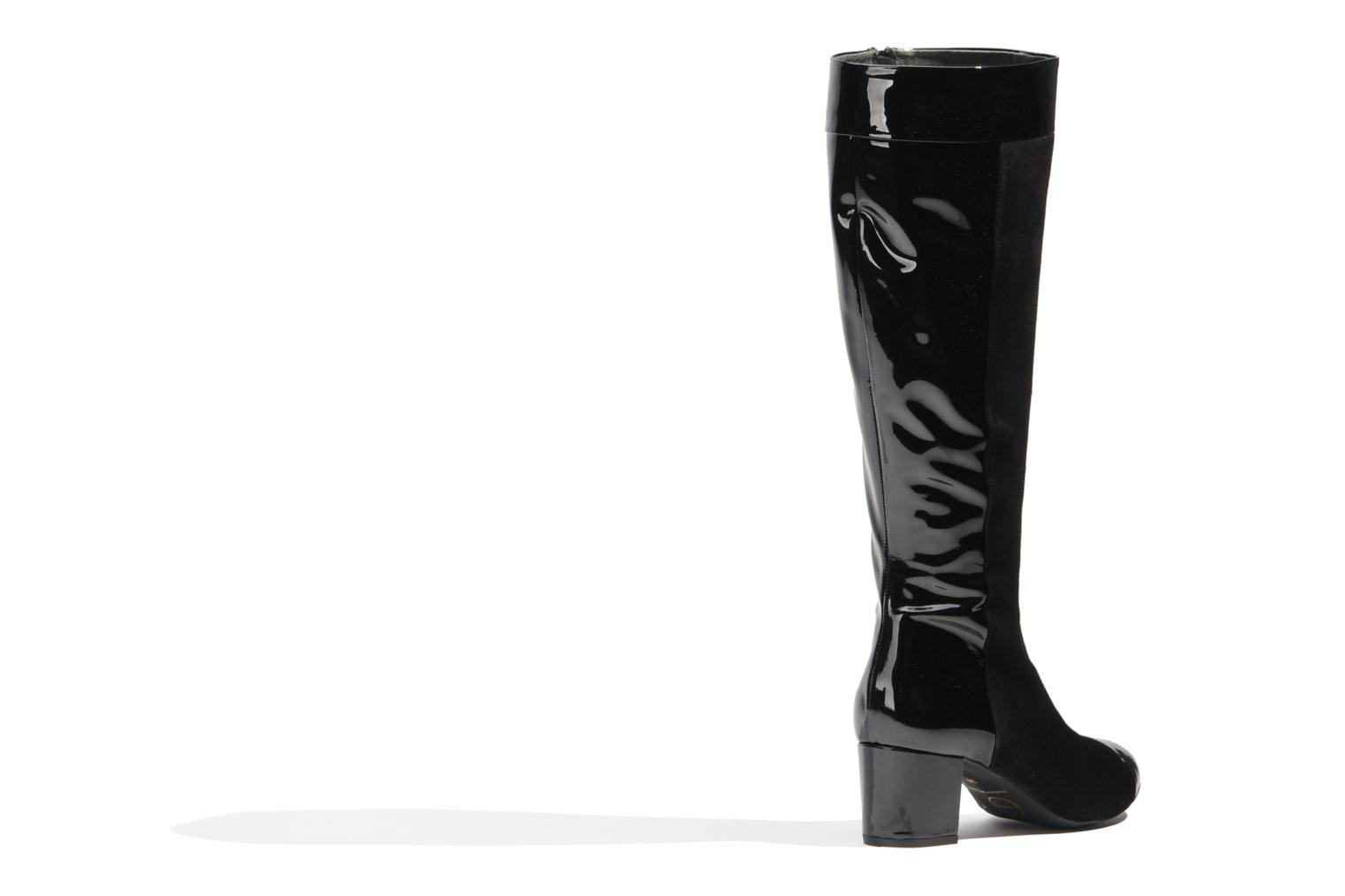 Bottes Made by SARENZA Boots Camp #4 Noir vue face