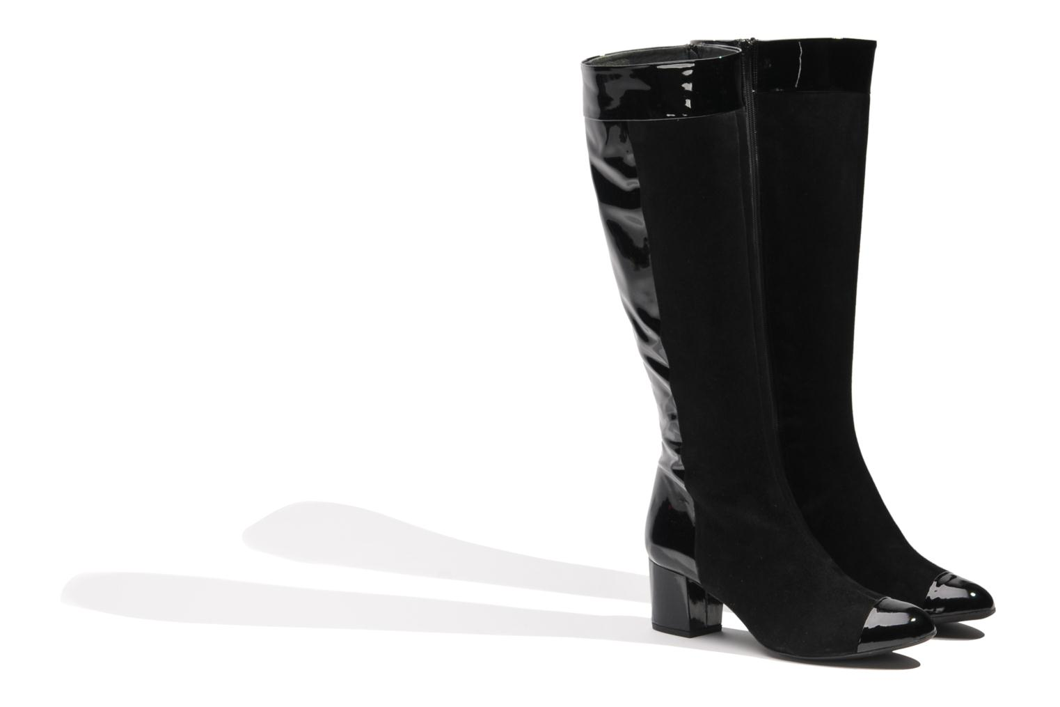 Boots & wellies Made by SARENZA Boots Camp #4 Black back view