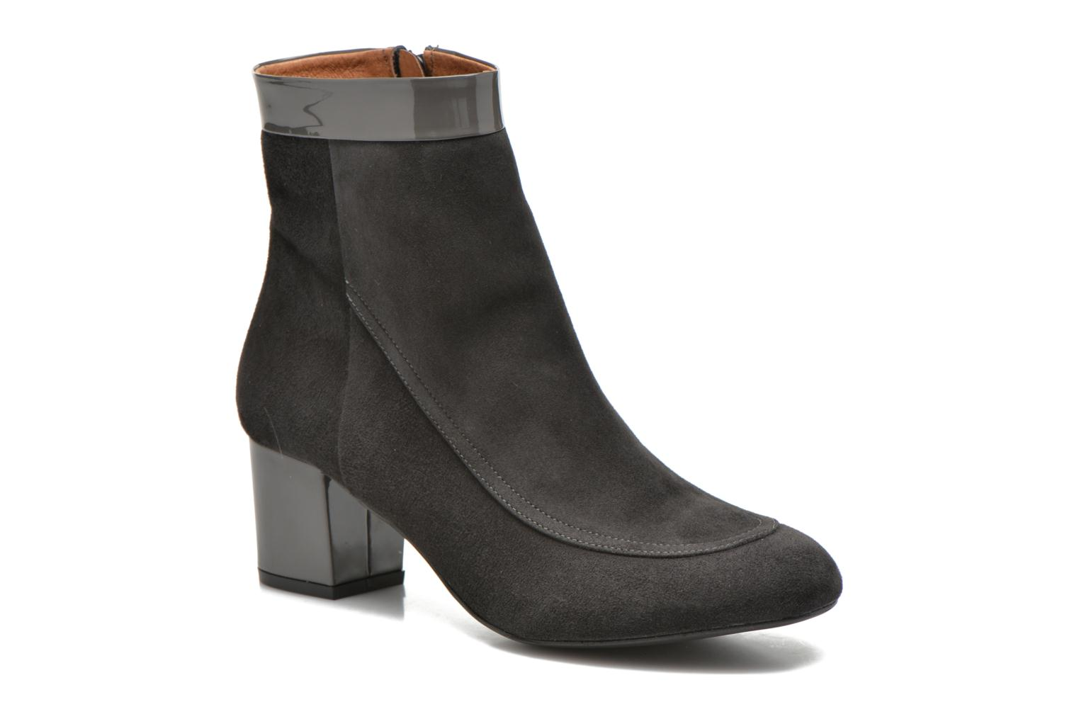 Ankle boots Made by SARENZA Queens Cross #17 Grey view from the right