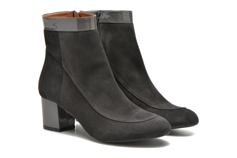 Bottines et boots Made by SARENZA Queens Cross #17 Gris vue derrière