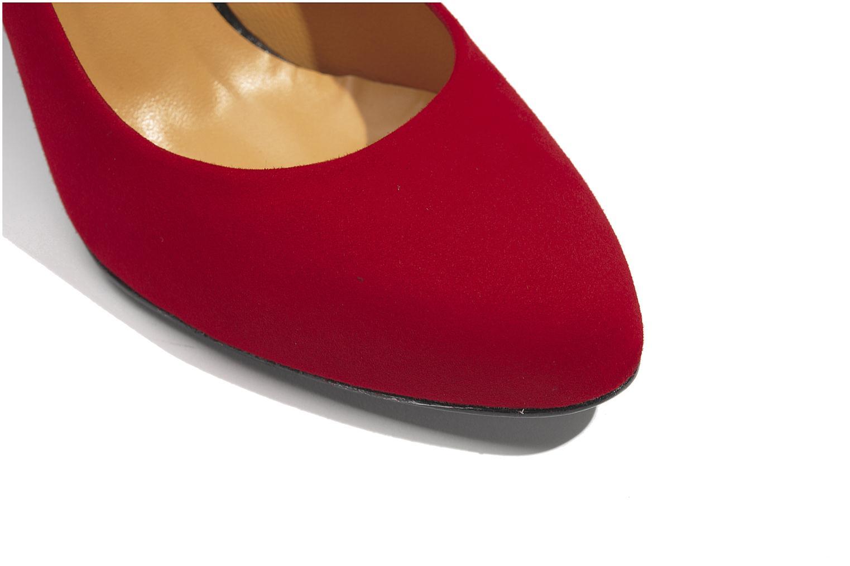 Escarpins Made by SARENZA Glaçons citrons #18 Rouge vue haut