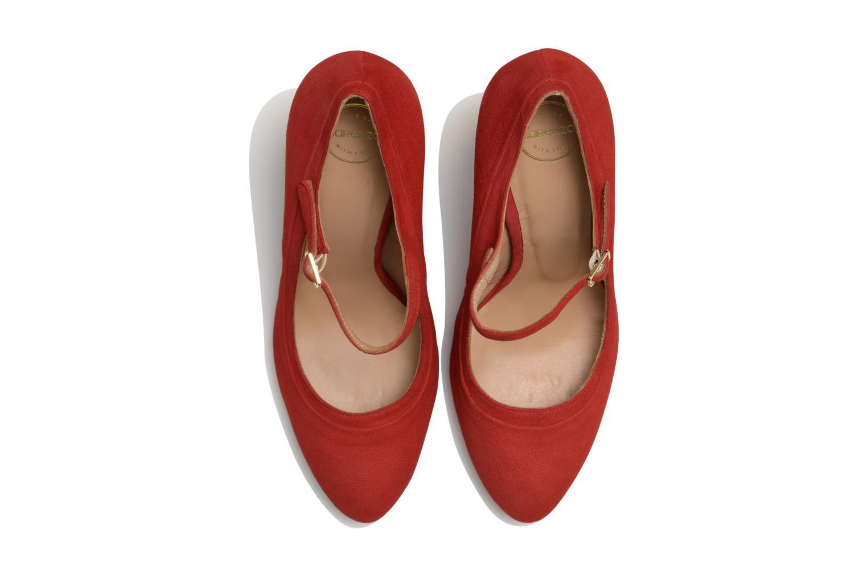 Escarpins Made by SARENZA Flore Thirties #13 Rouge vue portées chaussures