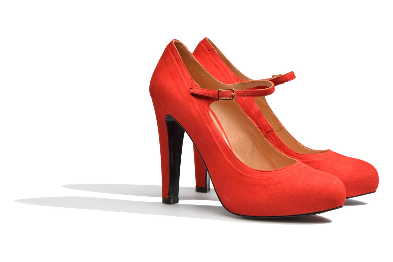Escarpins Made by SARENZA Flore Thirties #13 Rouge vue derrière