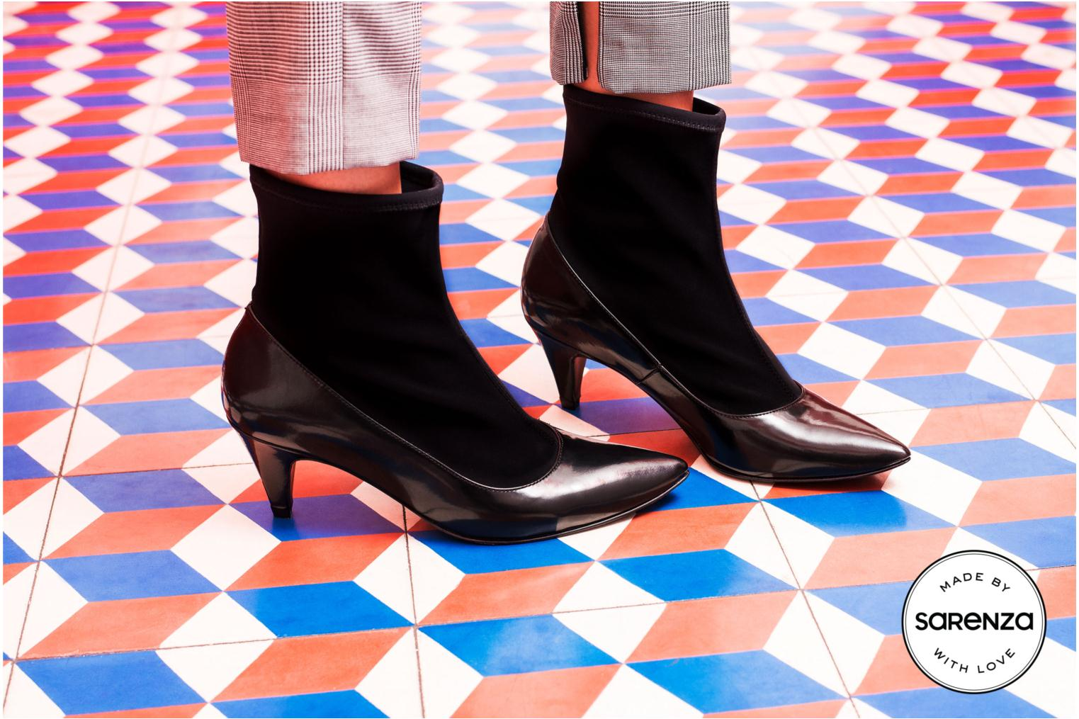 Ankle boots Made by SARENZA Bataclan #6 Black 3/4 view