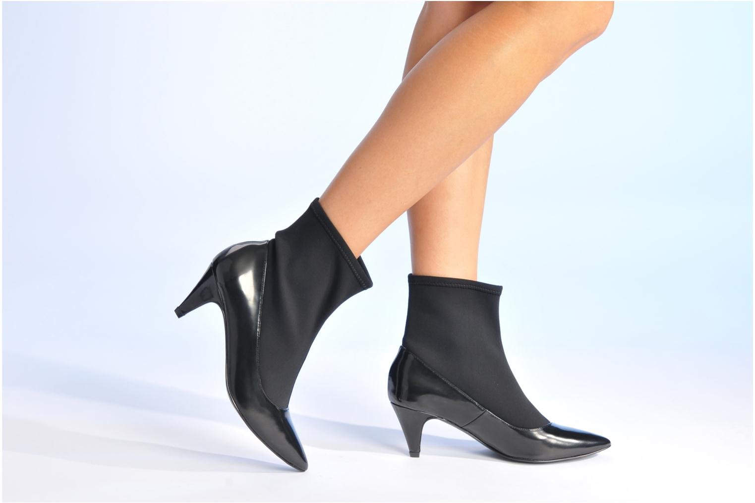 Ankle boots Made by SARENZA Bataclan #6 Black view from underneath / model view