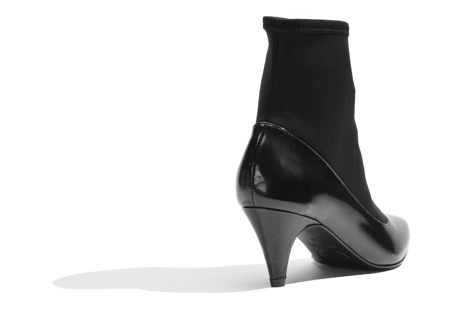 Ankle boots Made by SARENZA Bataclan #6 Black front view