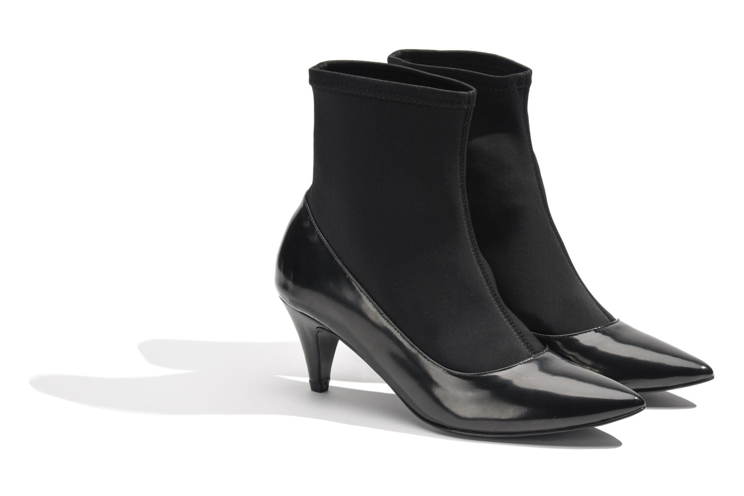 Ankle boots Made by SARENZA Bataclan #6 Black back view