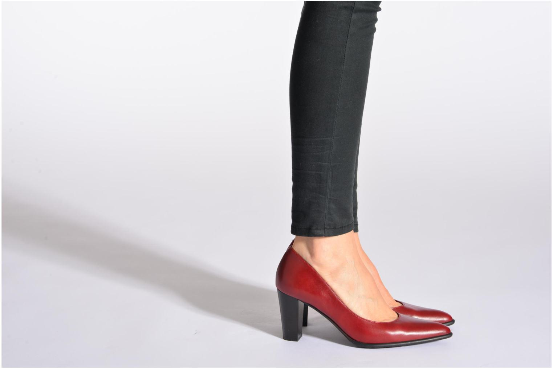Zapatos de tacón Perlato Piaza Marrón vista de abajo