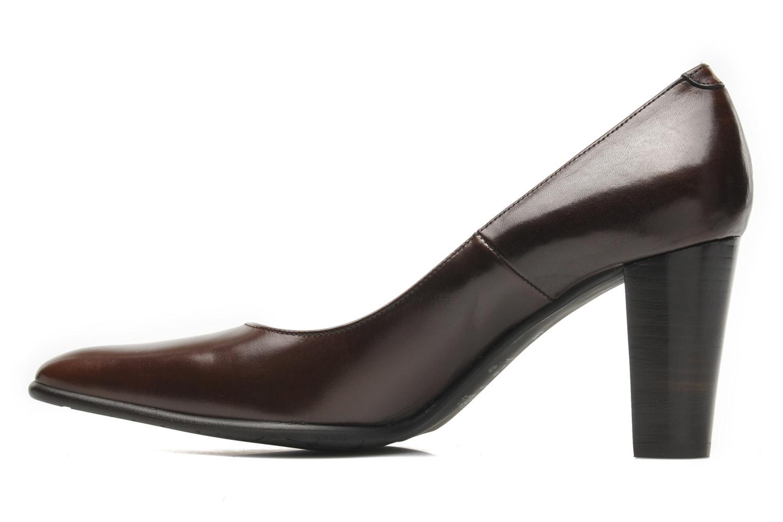 Zapatos de tacón Perlato Piaza Marrón vista de frente
