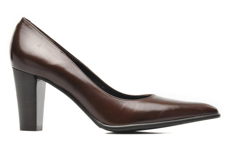 Zapatos de tacón Perlato Piaza Marrón vistra trasera