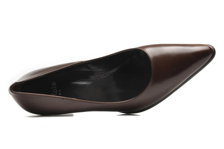 Zapatos de tacón Perlato Piaza Marrón vista lateral izquierda