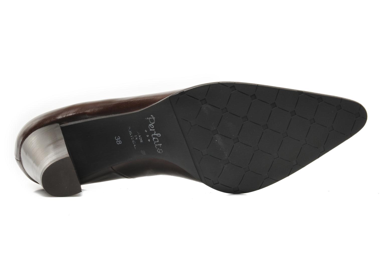 Zapatos de tacón Perlato Piaza Marrón vista de arriba